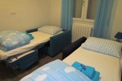Open armchair beds in room Mare