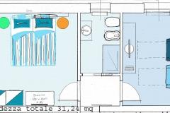 Progetto camera Mare